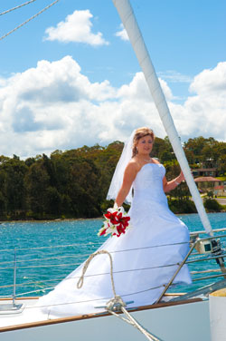 Lake Macquarie Yacht Wedding